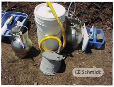 odor flux chamber testing on compost.jpg