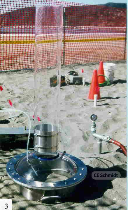 groundwater sparging study