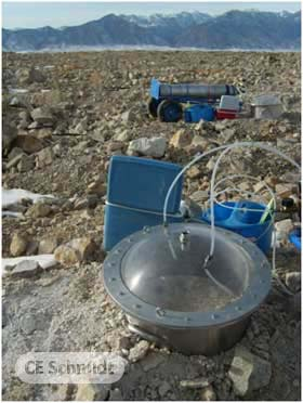 usepa flux chamber source testing heap leach