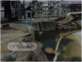 flux chamber measurement wastewater
