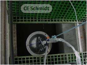 flux chamber testing wastewater well